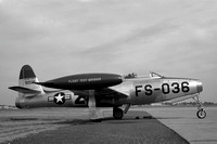 USAF Flight Test Division Republic F-84E Thunderjet 49-2036