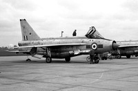RAF 5 Squadron English Electric Lightning F.6 XS922/H with Maltese cross marks (1968)