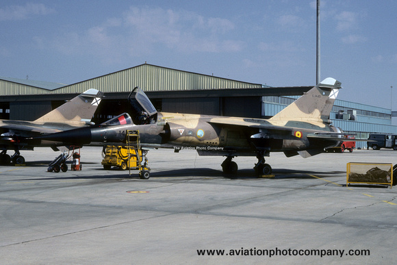 The Aviation Photo Company: Latest Additions &emdash; Spanish Air Force Ala 14 Dassault Mirage F.1E C.14-23/14-23 (1988)