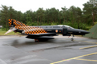 German AF WTD61 McDonnell F-4F at the Phantom Pharewell Wittmund (2013)