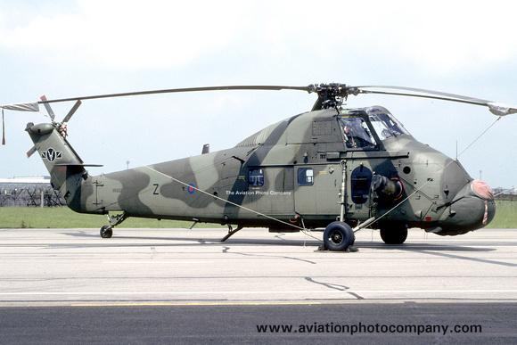 The Aviation Photo Company: Latest Additions &emdash; RAF 60 Squadron Westland Wessex HC.2 XR502 (1993)