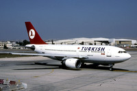 Turkish Airlines Airbus A310-200 TC-JCS (2000)