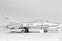 USAF North American F-100F Super Sabre 56-3778