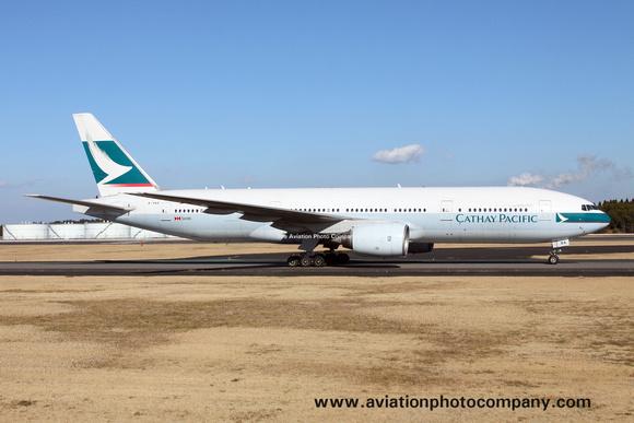 The Aviation Photo Company: Latest Additions &emdash; Cathay Pacific Boeing 777-200 B-HNA at Tokyo Narita (2016)