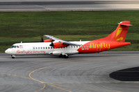 Firefly ATR-72-500 9M-FYD at Singapore IAP (2016)