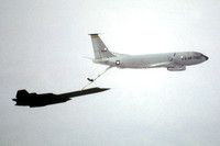 USAF Lockheed SR-71A Blackbird 61-7960 refueling from KC-135