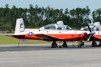 US Nvvy TAW-5 Beechcraft T-6B Texan II 166146/E-146 at NAS Whiting Field (2013)