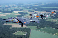 French Air Force Dassault Alphajet E69 and E6 Air to Air