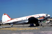 Taxpa Chile Curtiss C-46 CC-CCP (1977)