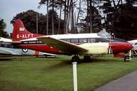 Civil Aviation Flying Unit De Havilland Dove G-ALFT at the Torbay Musuem (1982)