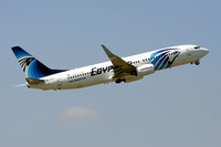 Egyptair Boeing 737-800 SU-GDY at Manchester (2013)