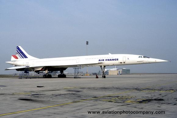 The Aviation Photo Company: Latest Additions &emdash; Air France BAC/Aerospatiale Concorde F-BTSD (1983)