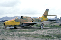 USAF Republic F-84F Thunderstreak 52-6475 dumped at China Lake (1992)