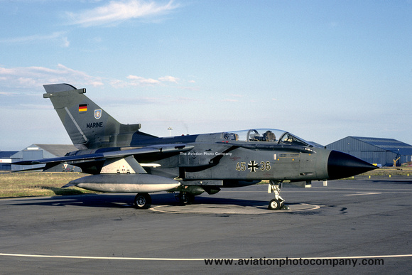 The Aviation Photo Company: Latest Additions &emdash; West German Navy MFG2 Panavia Tornado 45+36 (1988)