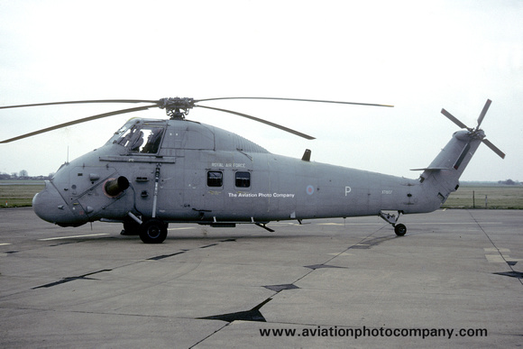 The Aviation Photo Company: Latest Additions &emdash; RAF 72 Squadron Westland Wessex HC.2 XT607 (1992)