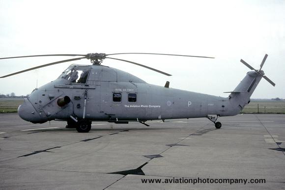 The Aviation Photo Company: Latest Additions &emdash; RAF 72 Squadron Westland Wessex HC.2 XT607 (1992)