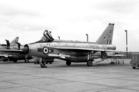 RAF 5 Squadron English Electric Lightning F.6 XS903/A with Maltese cross marks (1968)