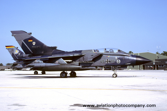 The Aviation Photo Company: Latest Additions &emdash; German Navy MFG2 Panavia Tornado IDS 45+34 (2003)