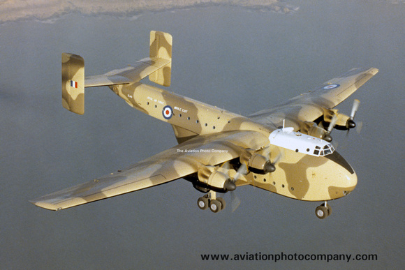 The Aviation Photo Company: Beverley (Blackburn) &emdash; RAF Middle East Blackburn Beverley C.1 XL118