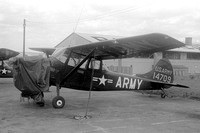 US Army USAREUR Cessna O-1A Bird Dog 51-4709