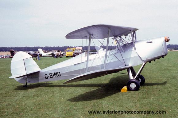The Aviation Photo Company: Stampe Types &emdash; Stampe SV-4 G-BIMO (1982)
