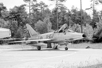 French Air Force EC11/1 North American F-100D Super Sabre 42235/11=EJ