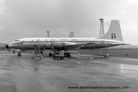 The Aviation Photo Company: Latest Additions &emdash; RAF 99/511 Squadron Bristol Britannia C.1 XL638 (1966)