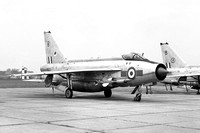 RAF 5 Squadron English Electric Lightning F.6 XS926/B with Maltese cross marks (1968)