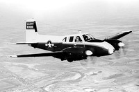 US Army Beech U-8D Seminole 56-3698
