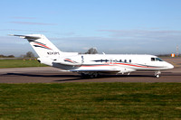 Hawker 4000 N243PC at Manchester (2016)