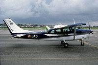 French Gendarmerie Cessna U206 Skywagon 2194/JAD (1982)