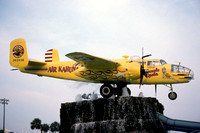 North American B-25 Mitchell '362436' at the Air Kahuna Water Park (1998)