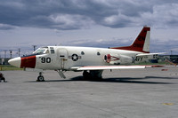US Navy North American T-39D Sabreliner 150987/2N-90