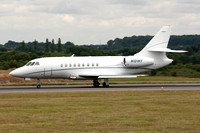 Orchard Leasing LLC Dassault Falcon 2000 N101NY at Luton (2015)