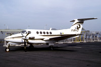 Peregrine Air Services/BP Beech King Air 200 G-BFVZ (1982)