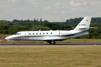 AeroWest Gmbh Cessna 680 Citation Sovereign D-CAWX at Luton (2015)