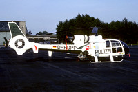 German Polizei Aerospatiale SA.342J Gazelle D-HOPP (1983)