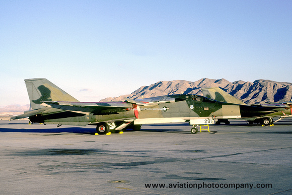 The Aviation Photo Company: F-111/EF-111 Aardvark/Raven (General Dynamics) &emdash; USAF 380 BW General Dynamics FB-111A 68-0291 at Nellis AFB (1980)