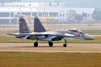 Russian AF Sukhoi Su-35S RF-93648/08 at the Zhuhai Airshow (2014)
