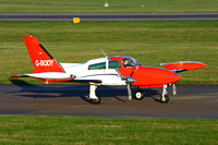 RVL Aviation Cessna 310R G-BODY at East Midlands (2013)