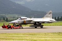 Hungarian Air Force SAAB JAS-39C 35 at the Zeltweg Airshow (2013)
