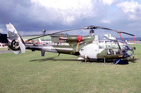 AAC Blue Eagles Westland Gazelle AH.1 ZB666 (1994)