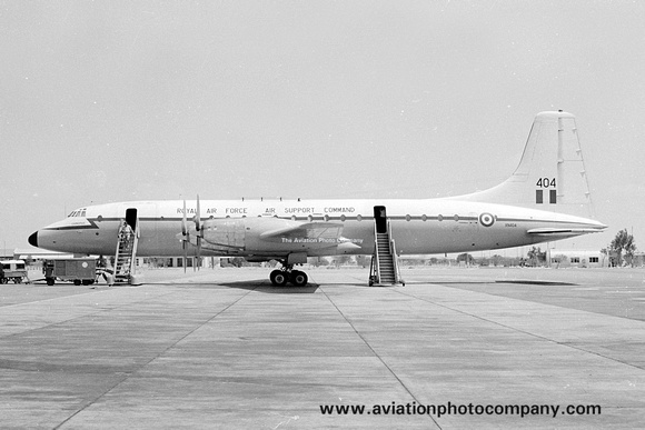 The Aviation Photo Company: Latest Additions &emdash; RAF 99/511 Squadron Bristol Britannia C.1 XN404