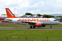 easyJet Airbus A319-100 HB-JYC at Prestwick (2016)