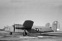 "USAF Consolidated B-24D Liberator 42-72843 ""Hail Columbia"""