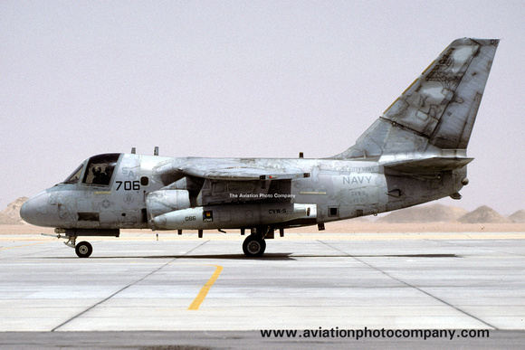 The Aviation Photo Company: S-3 Viking (Lockheed) &emdash; US Navy VS-21 Lockheed S-3A Viking 160139/NF-706 (1999)