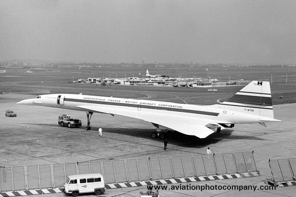 The Aviation Photo Company: Latest Additions &emdash; Aerospatiale-BAC Concorde F-WTSS (1971)