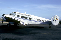 Rainbow Islands Cargo Beech G18S N9490Y (1983)