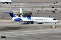 Falcon Air Express McDonnell Douglas MD-83 N306FA at Las Vegas IAP (2014)