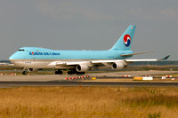 Korean Air Cargo Boeing 747-400F HL7434 at Frankfurt (2013)